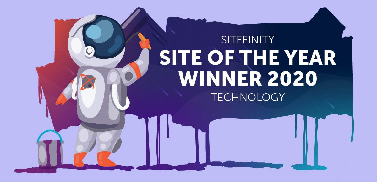 sitefinity site of the year 2020