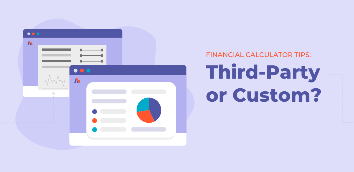 third-party or custom financial calculators on website