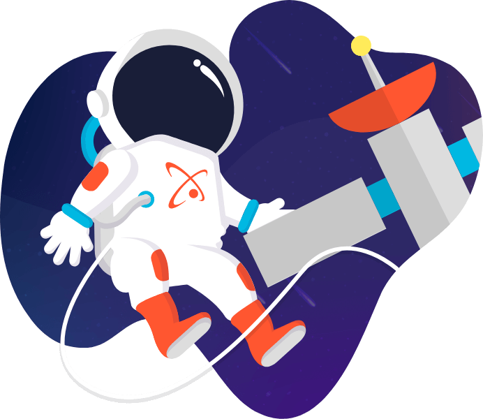smooth fusion astronaut