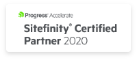 Sitefinity Certified Partner 2020